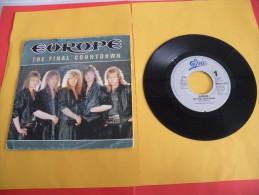 Europe, The Final Countdown - 1986 - Voir Photos,disque Vinyle - 2 € Le Vinyle 45 T - Rock