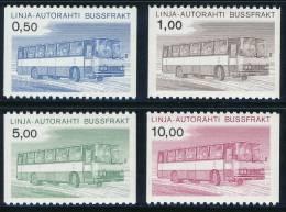 FINLAND/Finnland 1981 AUTOPAKETTI Post Bus Set Of 4v**