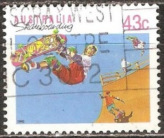 Australie - 1990 - Planche à Roulette - YT 1181 Oblitéré