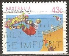 Australie - 1990 - Planche à Roulette - YT 1181a Oblitéré