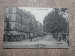 CPA 75 PARIS AVENUE SAINT MANDE - France