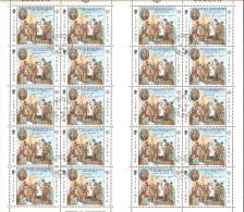 Isle Of Man 1980 Mi# 164-165 Used - Sheets Of 20 (folded) - Europa - Isola Di Man