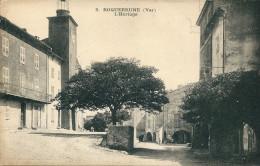 CPA 83 ROQUEBRUNE SUR ARGENS L'HORLOGE JOLI PLAN - Roquebrune-sur-Argens