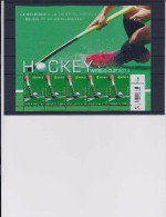 Belgie - Belgique 4421 Velletje Van 5 Postfris - Feuillet De 5 Timbres Neufs  -  Hockey World Cup 2014 - Feuilles Complètes