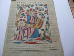 Image - Cantiques Spirituels. Oraison à Saint-Joseph. Glorieux Ami De Dieu, Priez Pour Nous, - Images Religieuses