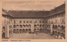 Krakow  Dziedziniec Zamku Na Wawelu  -  Scan Recto-verso - Pologne