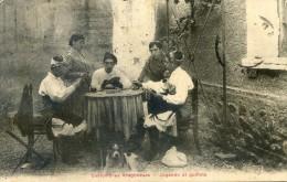 Costumbres Aragonesas - Jugando Al Guinote - Jeu De Cartes - Espagne