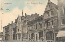 MIDDELKERKE : 3ième Groupe De La Digue- RARE CPA - Cachet De La Poste 1908 - Middelkerke