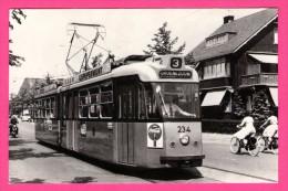 "Rotterdam Van Aerssenlaan - RET - Ijspepermunt - Gelede Tram Lijn 3 - Pub "" Coca-Cola "" - Animée - 1964 - Tramways"
