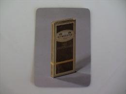 Tobacco/ Tabac/ Cigars/ Cigarettes/ Cigarrillos Ritmeester Portugal Portuguese Pocket Calendar 1991 - Calendari