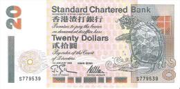 Hong Kong - Pick 285b - 20 Dollars 1995 - Unc - Hong Kong