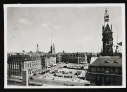 [004] Hamburg, Adolf - Hitler - Platz, 1940, Photo Hans Hartz, Verlag Hans Andres - Allemagne