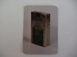 Tobacco/ Tabac/ Cigars/ Cigarettes/ Cigarrillos Royale Menthol Portugal Portuguese Pocket Calendar 1991 - Calendriers