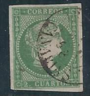 ESPAÑA 1855 - Edifil #47 - VFU - Unused Stamps