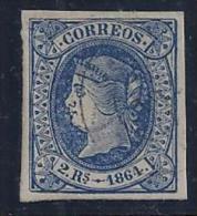 ESPAÑA 1864 - Edifil #68 - VFU - Unused Stamps