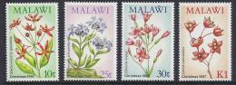 FLORES - MALAWI 1987- Yvert #501/04 - MNH ** - Vegetales