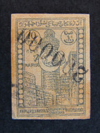 """(O)AZERBAIJAN -1922-23- """"Vistas"""" R. 2000000 Su 10 US° (descrizione) - Azerbaïjan"""