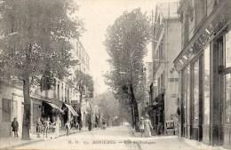 ASNIERES - Rue De Bretagne (animation) - Asnieres Sur Seine