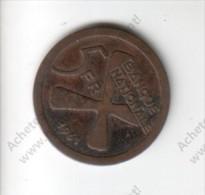 Pièce De Monnaie De 5 Fr Du Katanga Indépendant De 1961 - Katanga