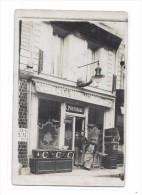 51 - Carte Photo EPERNAY ? : Café De L´Union, PORTHEAULT, - Epernay