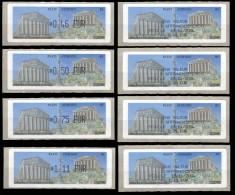 VIGNETTES D'AFFRANCHISSEMENT DU SALON PHILA. EN NOVEMBRE 2004 AVEC RECUS CORRESPONDANTS - 1999-2009 Geïllustreerde Frankeervignetten