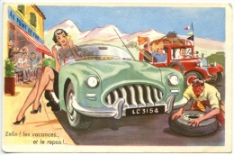 Automobile - Enfin Les Vacances .... - Hedendaags (vanaf 1950)