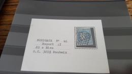 LOT 294199 TIMBRE DE FRANCE OBLITERE N�46B