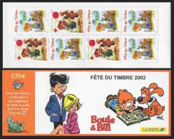 France Carnet Fête Du Timbre 2002 - BC 3467a - Neuf ** Non Plié - MNH - Boule Et Bill - France