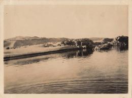 Photo Ancienne Egypte Le Nil Assouan Près Des éléphantines - Lieux