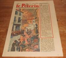 Le Pèlerin. N°3358.  16 Mars 1947. Deux Nouveaux Cratères De L'Etna Se Sont Ouverts. Pat´Apouf. - 1900 - 1949