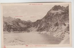 2 CPSM LAC D'ARTOUSTE, COL D'AUBISQUE (Pyrénées Atlantiques) - 1989 M Vue Générale, 1704 M La Route - Frankrijk