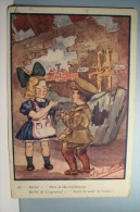 Billet De Logement  -  Voici La Salle De Bains -( MILITARIA )   ---  BOB  EDW  , Illustrateur  - - Künstlerkarten