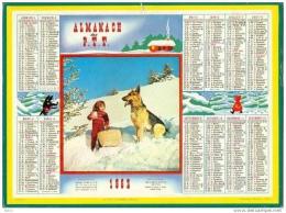 Calendrier - Almanach Des PTT 1962 - Big : 1961-70