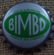 BIMBO Kronkorken COMORES Island Africa rare soda beverage bottle crown cap tappi corona tappo chapa capsule TOP