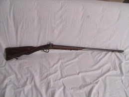 Carabine à Percussion Beretta - Armes Neutralisées