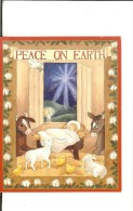 Gaspan -Dana Strange 71039 -H.George Caspari - Crêche : Peace On Earth - 9.5cmx12cm - Noël