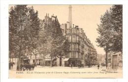 PARIS - SEINE - 7ème ARRT - RUE DE L'UNIVERSITE PRISE DE L'AVENUE RAPP - Distretto: 07