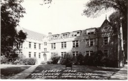Naperville Illinois, Seybert Hall Evangelical Theological Seminary, C1940s/50s Vintage Real Photo Postcard - Naperville