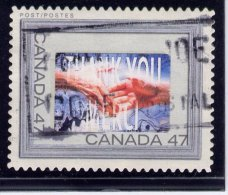 CANADA  2000, USED #1882a   PICTURE FRAME:   SILVER FRAME - 1952-.... Règne D'Elizabeth II