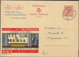 BELGIUM - CARTE POSTALE 1967 SINAII PUBLIBEL 2173 - Entiers Postaux