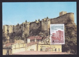 SPAIN ESPAGNE 2001. MAXIMUM CARD. CASTLES . CASTLE OF LA ZUDA - TORTOSA - Castles