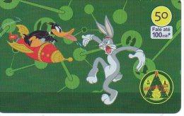 Bugs Bunny Lapin Rabbit Télécarte Phonecard  Karten (289) - Fumetti