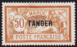 1918 - 1924. TANGER 50 C.  (Michel: 11) - JF191277 - Briefmarken