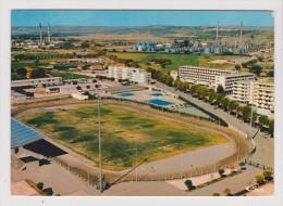 CPM - BERRE L ETANG - Vue Aérienne - Le Stade Municipal La Piscine Les Résidences Marielie Les Raffineries - Francia