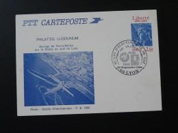 Barrage Dam Electricity 40 Ans EDF Lyon Entier Postal Stationery Card 1986 - Electricity