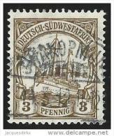 Deutsch  SudwestAfrika          Michel    24                 O                Gebraucht  /  Cancelled - Colonie: Afrique Sud-Occidentale