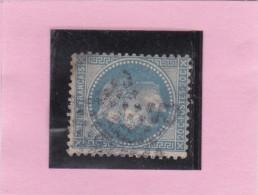 ETOILE DE PARIS N°36   Bureau  Bt VOLTAIRE     REF 17140 - Marcophily (detached Stamps)