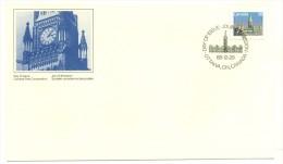 1988 Canada Parliament Buildings Definitive 38c First Day Cover - Primi Giorni (FDC)