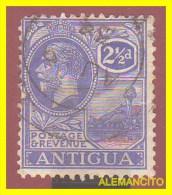 ANTIGUA  - AMERICA DEL NORTE  CARIBE  SELLO -1913 GEORGE V - Sellos