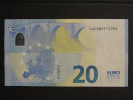 20 Euro ITALY S001D5 SB4001512252 - 20 Euro